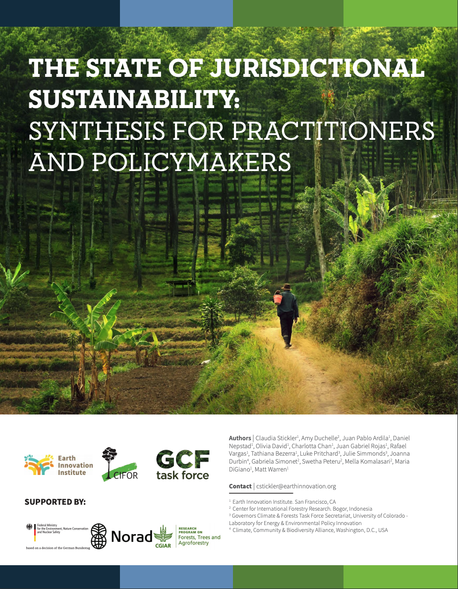 The State of Jurisdictional Sustainability: Synthesis for Practitioners and Policymakers