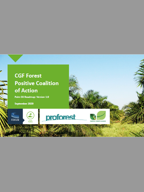 CGF Forest Positive Coalition of Action: Palm Oil Roadmap Version 1.0