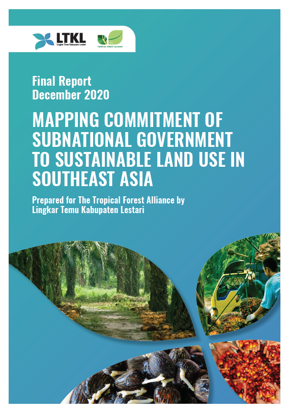 Mapping Commitment of Subnational Governments to Sustainable Land Use in Southeast Asia