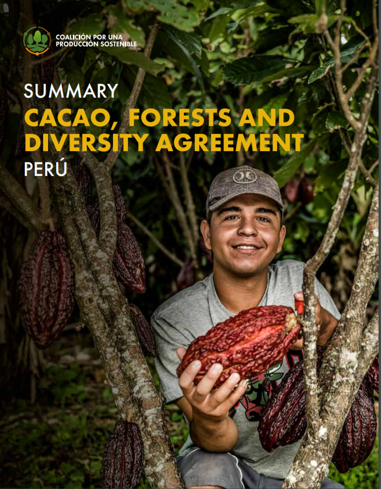 Summary: Cacao, Forests and Diversity Agreement, Peru